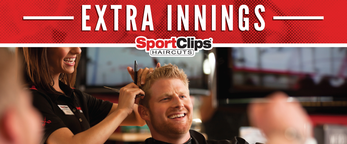 The Sport Clips Haircuts of Strawbridge Marketplace  Extra Innings Offerings
